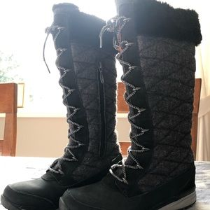 Salomon Hime tall winter boots, Worn once.